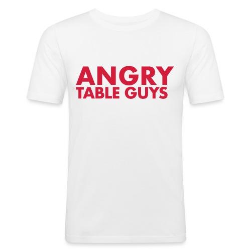 angrytableguys.com - Männer Slim Fit T-Shirt