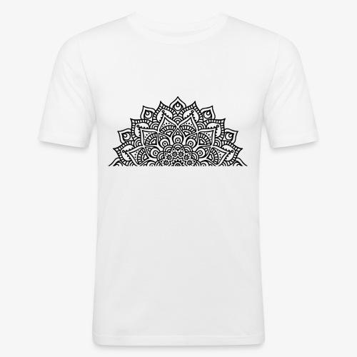 mandala2 - Men's Slim Fit T-Shirt