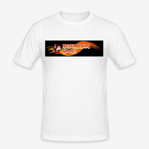 resgames Logo ab 2013 - Männer Slim Fit T-Shirt