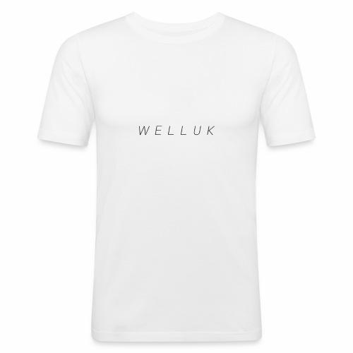welluk - Mannen slim fit T-shirt