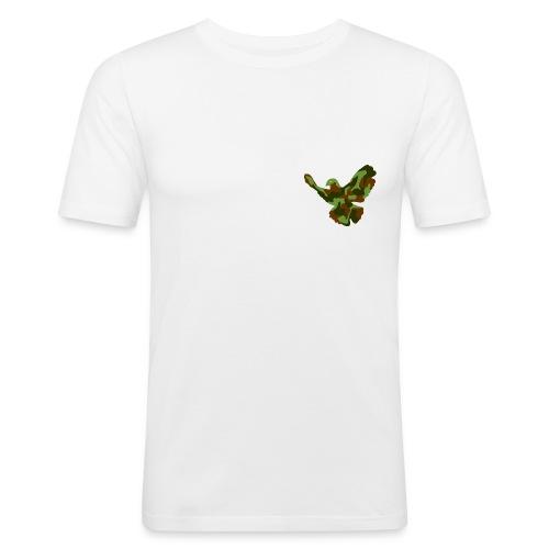 friedenstaube - Männer Slim Fit T-Shirt