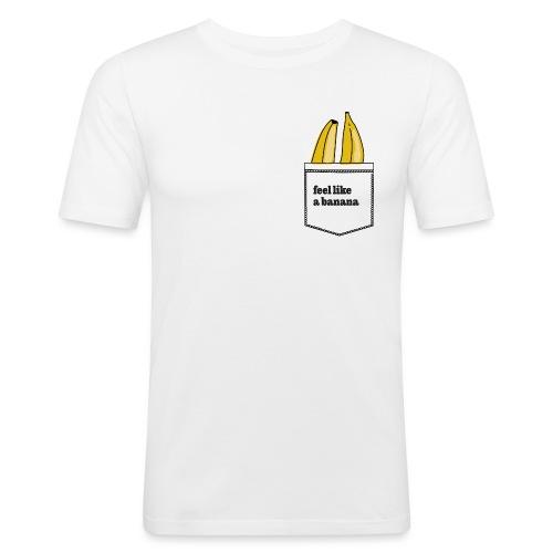 banana in my pocket - Männer Slim Fit T-Shirt