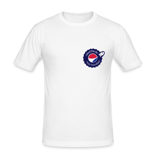 MAX korkki - Miesten tyköistuva t-paita