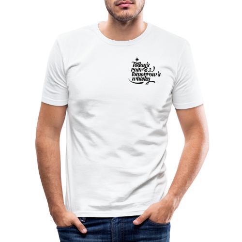Today's Rain - Men's Slim Fit T-Shirt