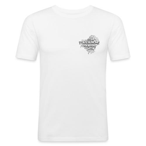 ordgennemsigtig - Herre Slim Fit T-Shirt