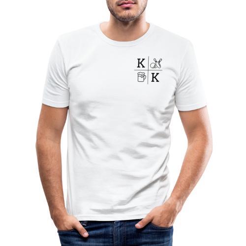 KCKT_LOGO_KLEINER - Männer Slim Fit T-Shirt