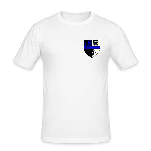 Wappen HQ - Männer Slim Fit T-Shirt
