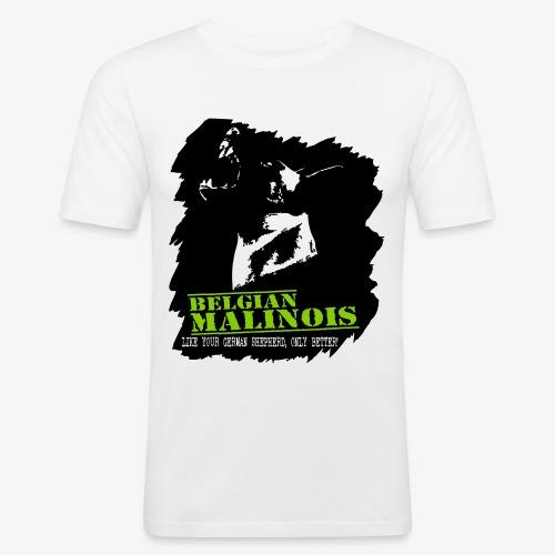 Malinois Schutzdienst - Männer Slim Fit T-Shirt