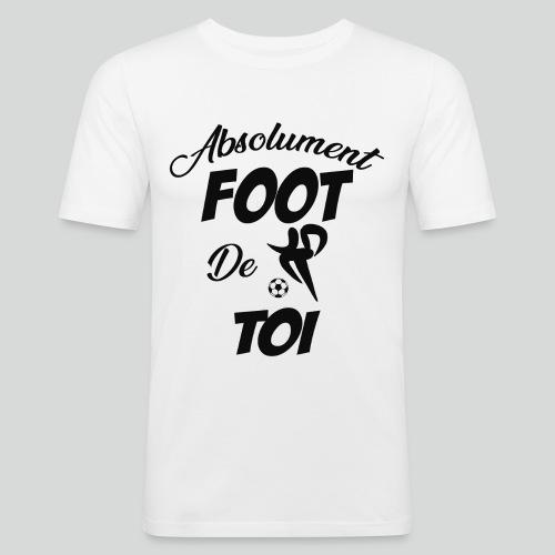 Absolument Foot de Toi (N) - T-shirt près du corps Homme