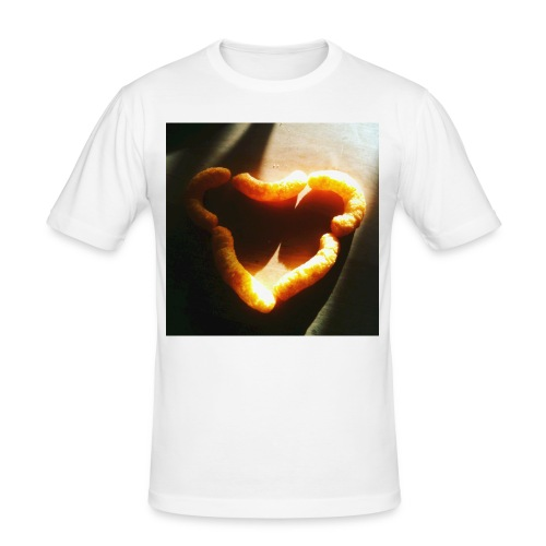 I love cheese doodles - Slim Fit T-shirt herr