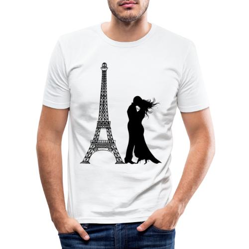 Bestes Paris Design online - Männer Slim Fit T-Shirt