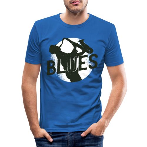 Bestes Blues Design online - Männer Slim Fit T-Shirt