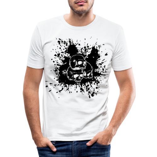 Skulls - T-shirt près du corps Homme