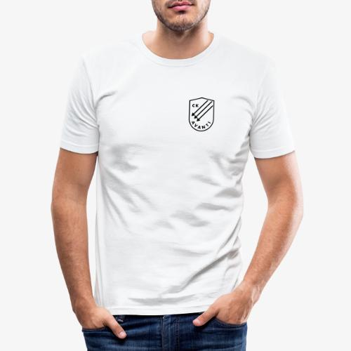 CK Avanti svart sköld - Slim Fit T-shirt herr