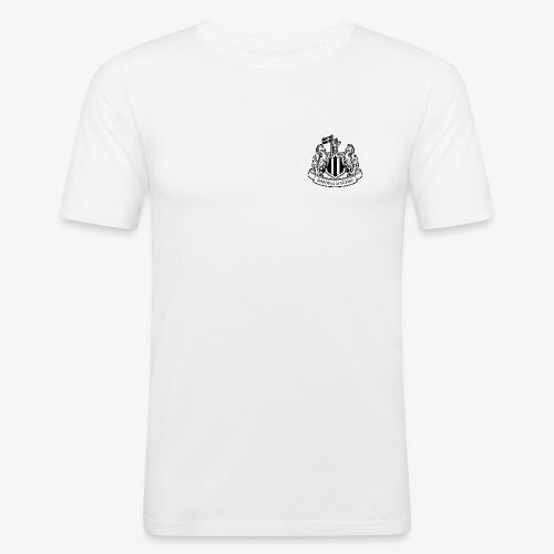 magpies-logo-svart - Slim Fit T-shirt herr