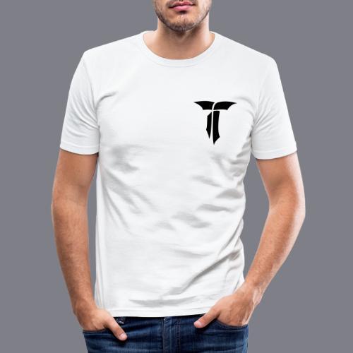 SIGNET BLACK - Männer Slim Fit T-Shirt