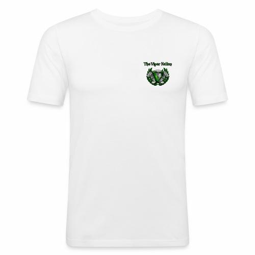TheViperbanner and logo - Men's Slim Fit T-Shirt