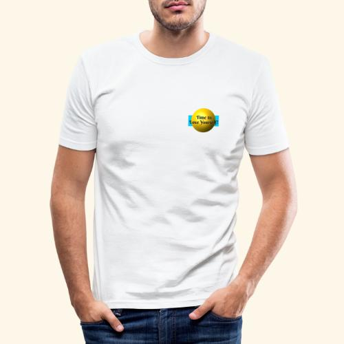 Time to Love Yourself - Männer Slim Fit T-Shirt
