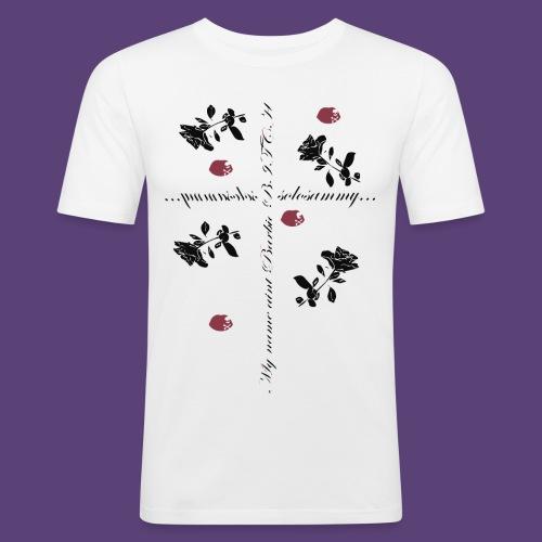 name_aint_barbie - Mannen slim fit T-shirt