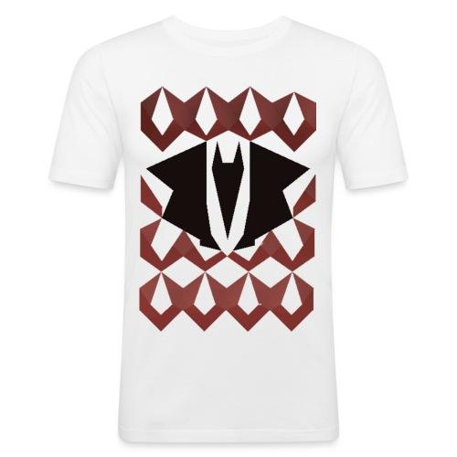 Dragon chain - Mannen slim fit T-shirt
