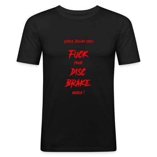 Uncle Julian says - Männer Slim Fit T-Shirt
