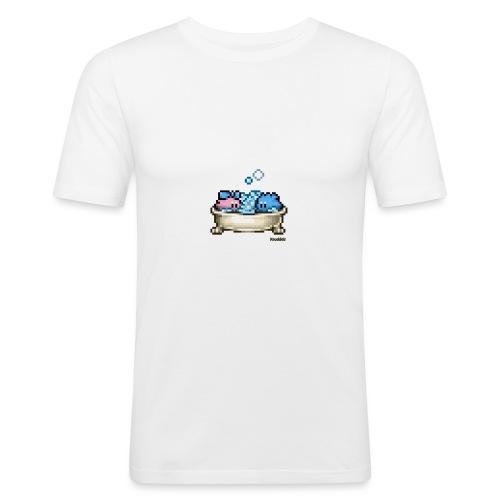 Badewanne - Männer Slim Fit T-Shirt