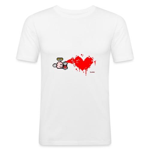Graffiti Heart - Männer Slim Fit T-Shirt