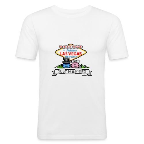 Just Married - Männer Slim Fit T-Shirt