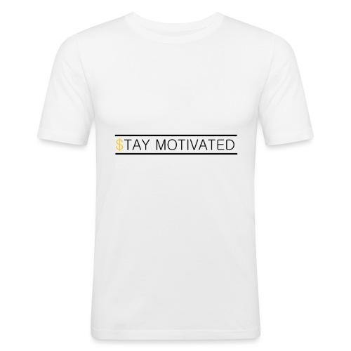 Stay motivated - T-shirt près du corps Homme