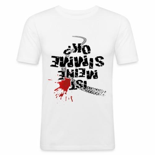 Ist meine SIMME ok? - Men's Slim Fit T-Shirt