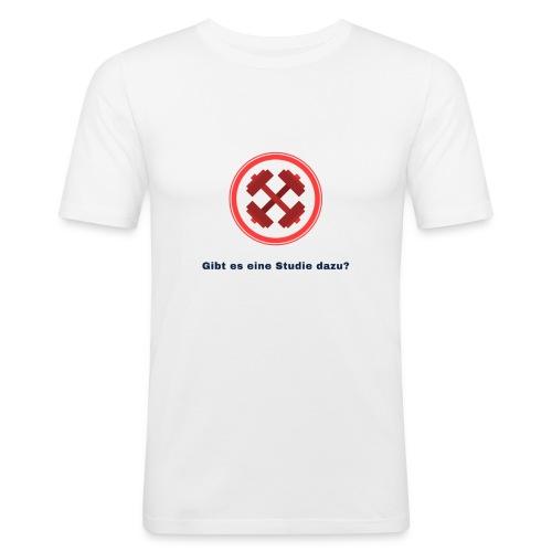Gibt es eine Studie dazu? - Männer Slim Fit T-Shirt