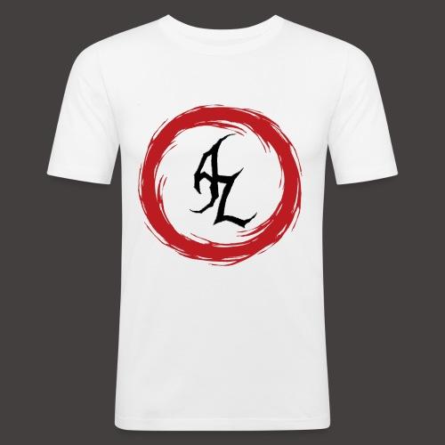 Logo Officiel Azaros Noir - T-shirt près du corps Homme
