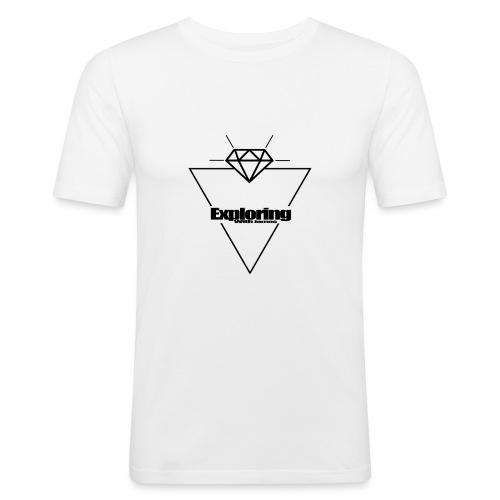 ExploringWithJamesClothing - Men's Slim Fit T-Shirt