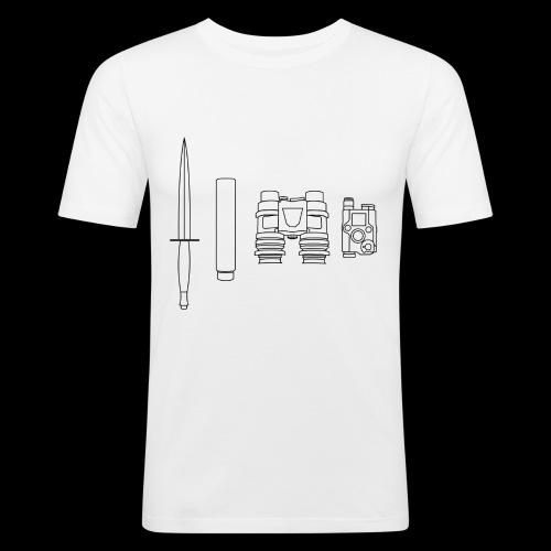 SOPMOD schwarz - Männer Slim Fit T-Shirt