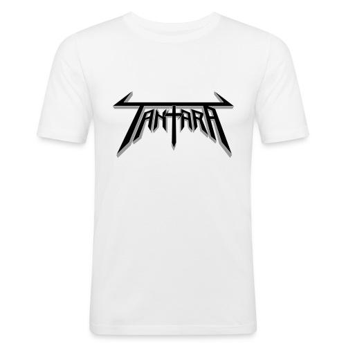 tantarablacsparent - Slim Fit T-skjorte for menn