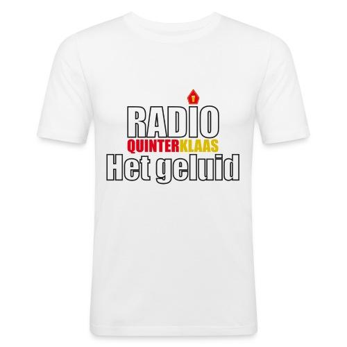 Radio Quinterklaas - Mannen slim fit T-shirt