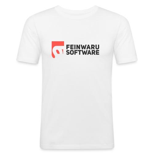 Feinwaru Full Logo - Men's Slim Fit T-Shirt