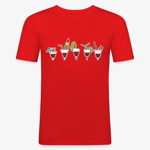 Soirée cuptails - T-shirt près du corps Homme