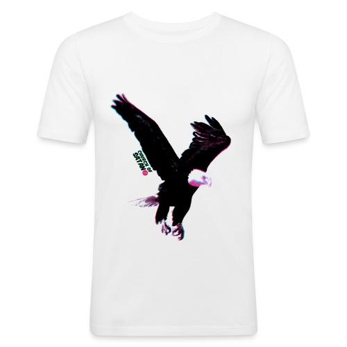 churchkotka - Miesten tyköistuva t-paita