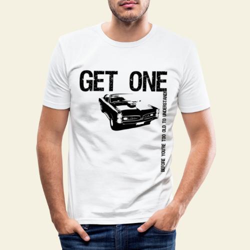 Pontiac GTO - Herre Slim Fit T-Shirt