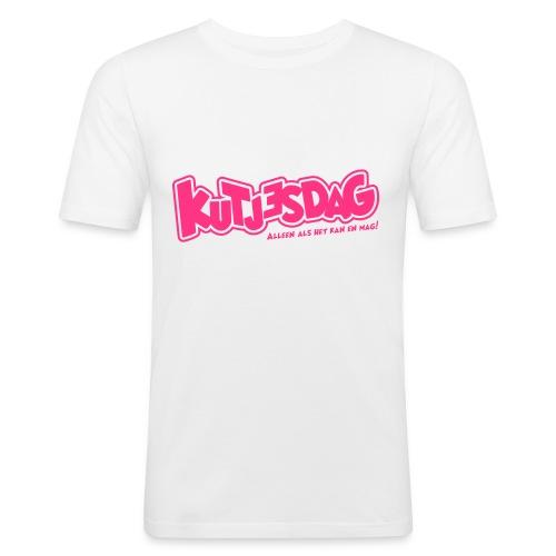 Kutjesdag - Mannen slim fit T-shirt