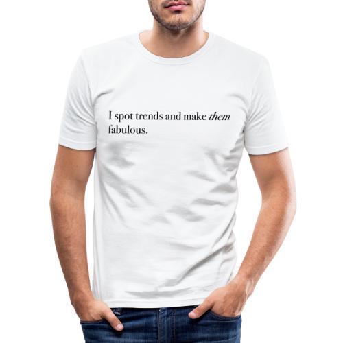SPOT TRENDS - Men's Slim Fit T-Shirt
