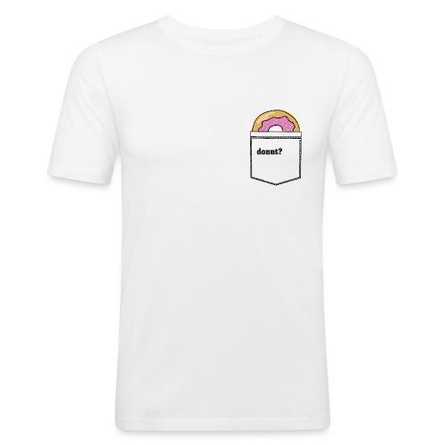 donut in my pocket - Männer Slim Fit T-Shirt
