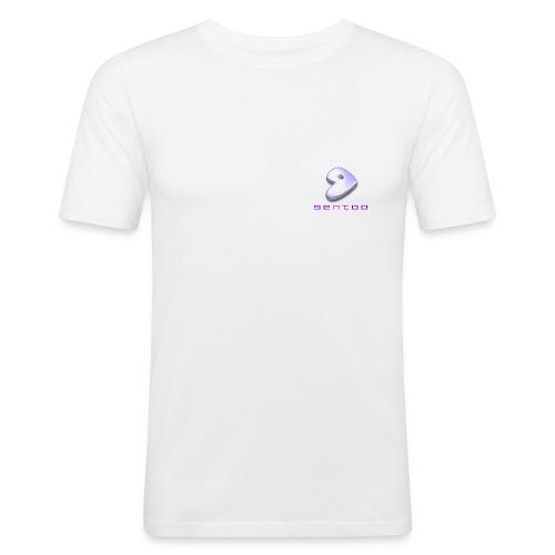 gentoologo - Männer Slim Fit T-Shirt
