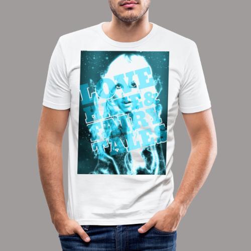 LoveHate Fairytales Miami - Mannen slim fit T-shirt