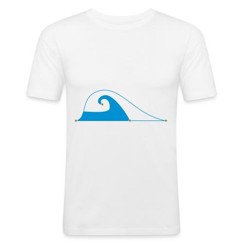 Gravity Flow - Men's Slim Fit T-Shirt