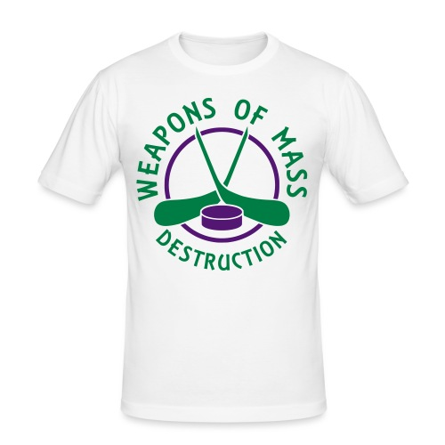 Hockey Weapons of Mass Destruction - Men's Slim Fit T-Shirt