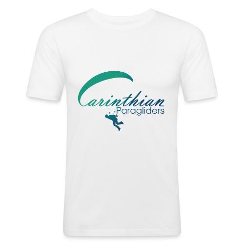 Carinthian Paragliders Logo 2019 - Männer Slim Fit T-Shirt