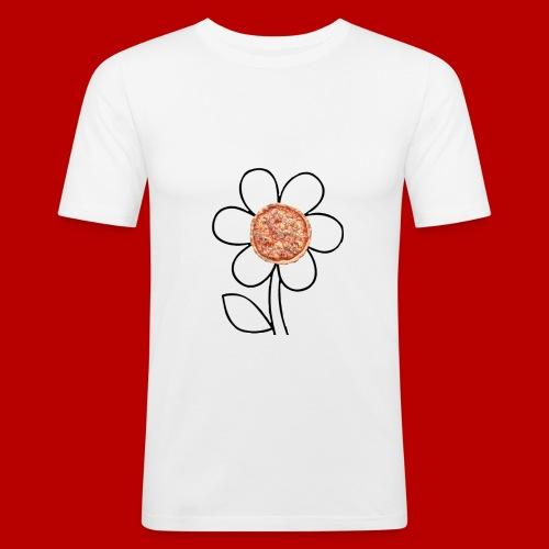 Pizzaflower Edition - Männer Slim Fit T-Shirt