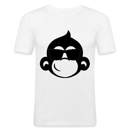 Singe cool - T-shirt près du corps Homme
